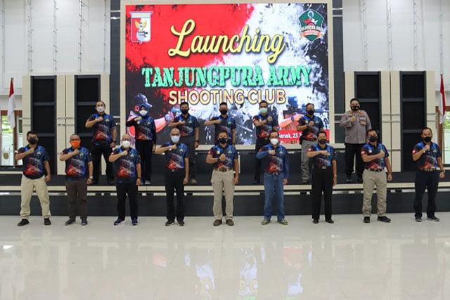 Pangdam XII/TPR Resmikan Berdirinya Tanjungpura Army Shooting Club