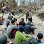 Polsek Belimbing Bersama TNI Himbau Pekerja Peti Hentikan Kegiatan