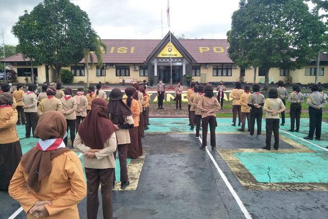 Sat Binmas Polres Melawi Gelar Latihan Bagi Anggota Saka Bhayangkara