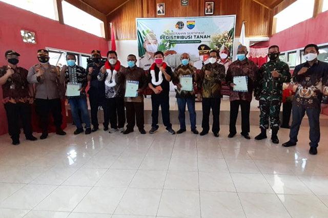 Wamen Agraria Kunjungi Kabupaten Seram Bagian Barat