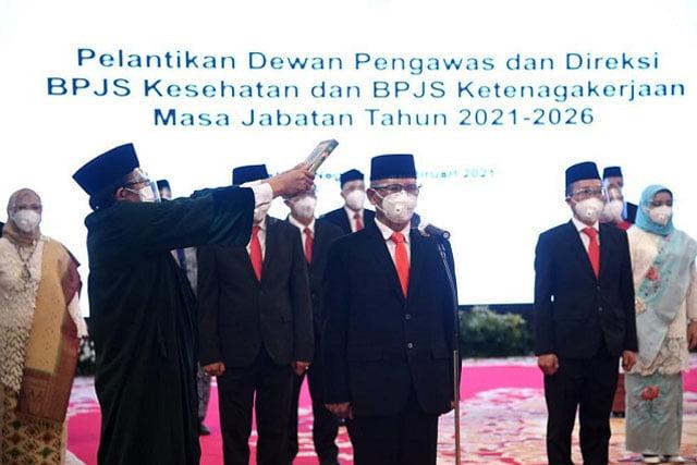 Muhammad Zuhri Resmi Jadi Ketua Dewas BPJS Ketenagakerjaan