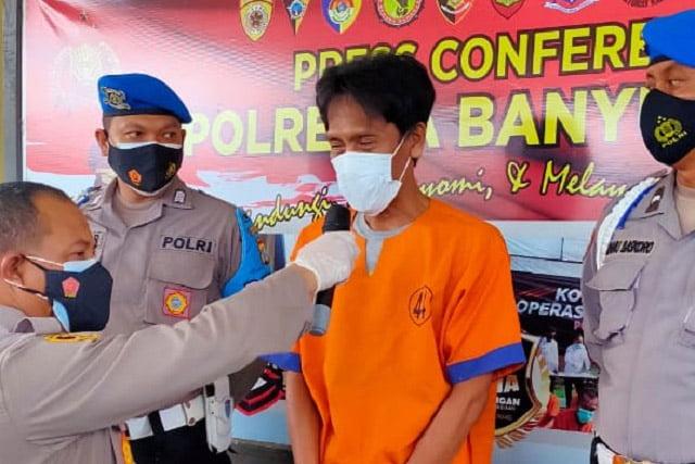 Polresta Banyuwangi Amankan Pelaku ke-13 Kasus Peredaran Upal Asing di Banten