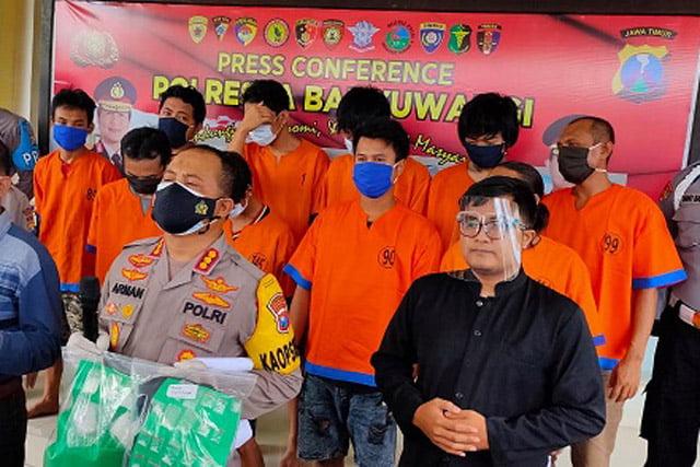 Polresta Banyuwangi Ungkap 24 Kasus Narkoba