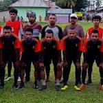 Tim Sepakbola Karamat Jaya Tanding Persahabatan Dengan Tim Desa Lumoli