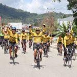 Pangdam XII Tanjungpura Ikuti Tour De Aruk G310K Etape 3