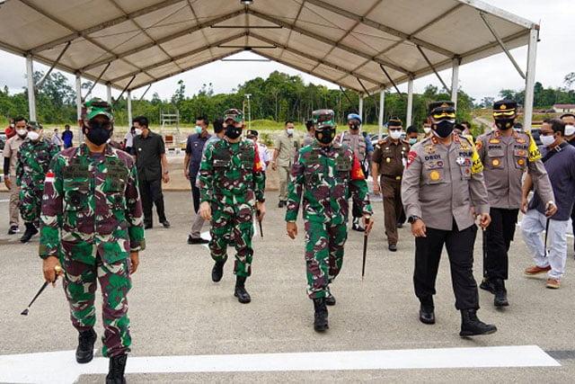 Pangdam XII Tanjungpura Pimpin Rakor Pengamanan VVIP Kunker Wakil Presiden