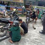 Satlantas Polres Melawi Tindak Pengguna Knalpot Bising
