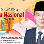 Hari Buku Nasional, Wakil Ketua DPR RI : Hapus Pajak Buku Agar Lebih Murah