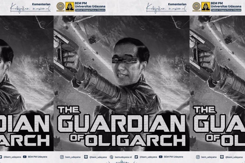 Giliran BEM Udayana Juluki Jokowi 'The Guardian Of Oligarch'