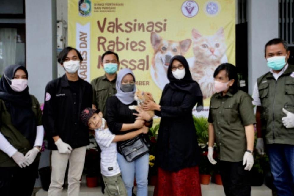 Banyuwangi Gelar Vaksinasi Rabies Gratis Kepada 2.300 Hewan Liar dan Peliharaan